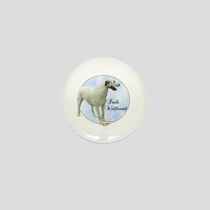 Wolfhound Portrait Mini Button