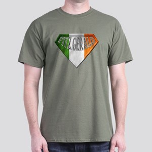 Fitzgerald Irish Superhero Dark T-Shirt