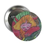 Detail from The Deep Rainforest Manticore Button