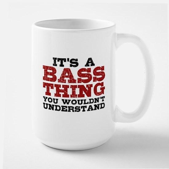 It's a Bass Thing Large Mug