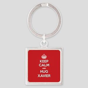 Hug Xavier Keychains