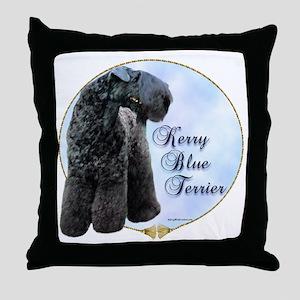 Kerry Portrait Throw Pillow