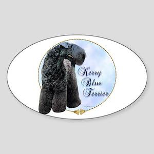 Kerry Portrait Oval Sticker