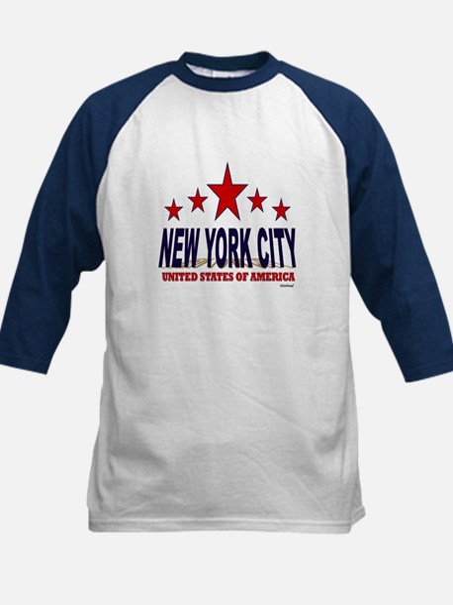 New York City U.S.A. Kids Baseball Jersey