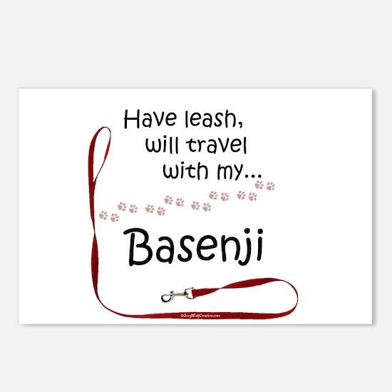 Basenji Travel Leash Postcards (Package of 8)