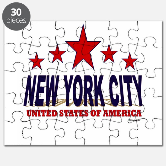New York City U.S.A. Puzzle