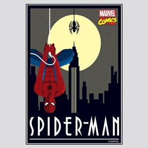 Moonlight Spiderman Wall Art