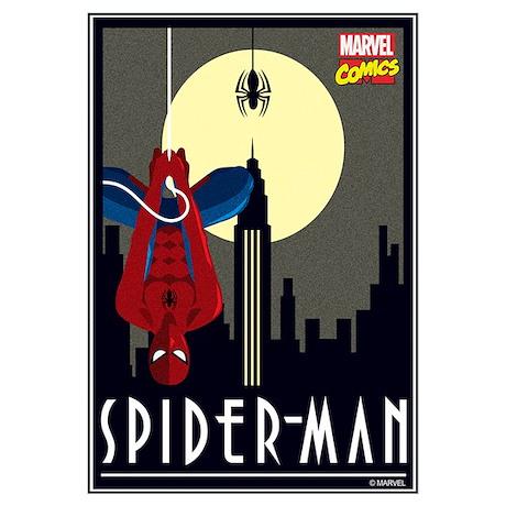 Moonlight Spiderman Wall Art