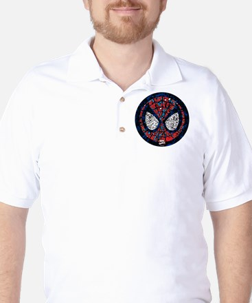 Spiderman Mask Golf Shirt