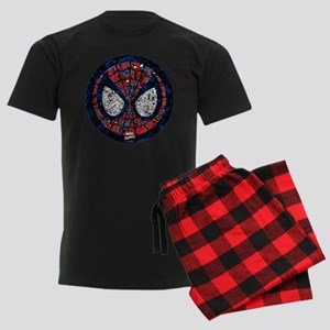 Spiderman Mask Men's Dark Pajamas
