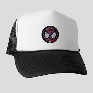 Spiderman Mask Trucker Hat