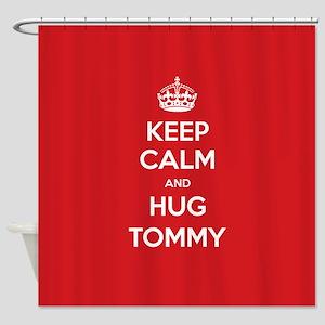 Hug Tommy Shower Curtain