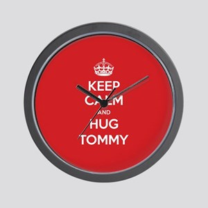 Hug Tommy Wall Clock