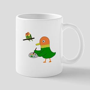 I am a lovebird. Mugs
