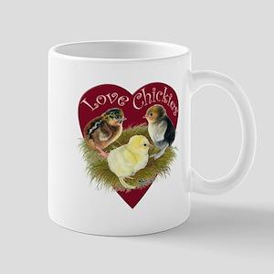 Love Chickies Mugs