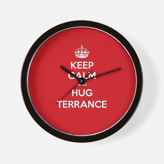Hug Terrance Wall Clock