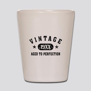 Personalize Vintage Aged to Perfection Shot Glass