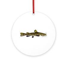 Flathead Catfish Ornament (Round)