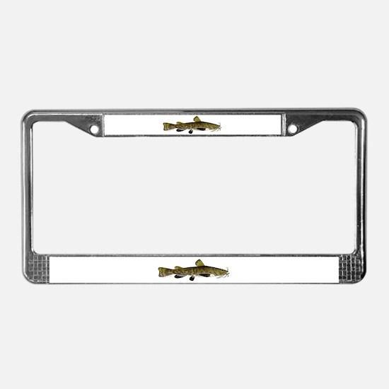 Flathead Catfish License Plate Frame