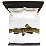 Flathead Catfish King Duvet