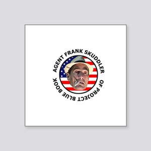 Agent Frank Skuddler All American T-Shirt Sticker