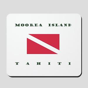 Moorea Island Tahiti Dive Mousepad