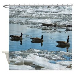 Geese Of Three Shower Curtain