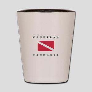 Zanzibar Tanzania Dive Shot Glass