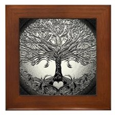 Tree of Life Bova Framed Tile