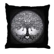 Tree of Life Bova Throw Pillow
