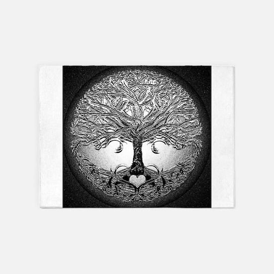 Tree of Life Bova 5'x7'Area Rug