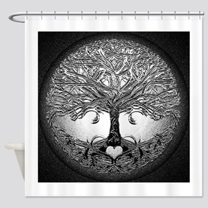 Tree of Life Bova Shower Curtain