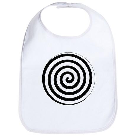 Hypnotic Spiral Bib