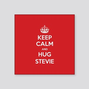 Hug Stevie Sticker