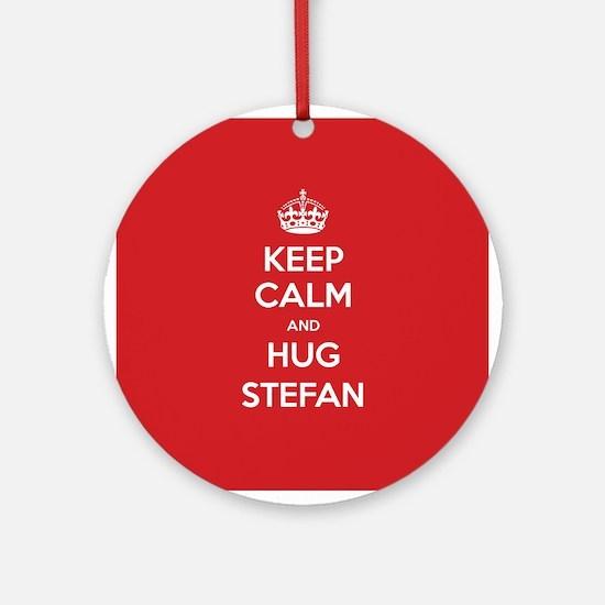 Hug Stefan Ornament (Round)