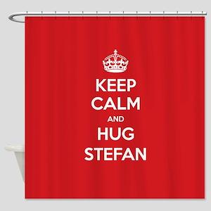 Hug Stefan Shower Curtain