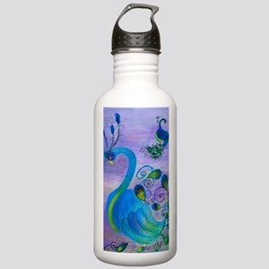 Sassy Peacock Stainless Water Bottle 1.0L