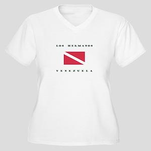 Los Hermanos Venezuela Dive Plus Size T-Shirt