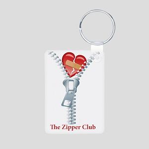 The Zipper Club Aluminum Photo Keychain