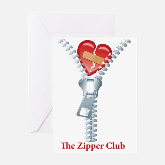 The Zipper Club Greeting Card