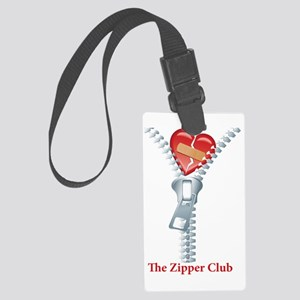 The Zipper Club Large Luggage Tag