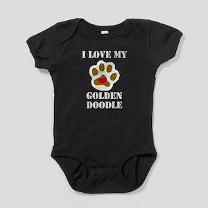 I Love My Goldendoodle Baby Bodysuit