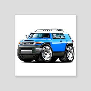 FJ Cruiser Blue Car Sticker