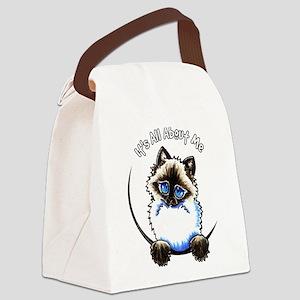 Ragdoll Ragamuffin IAAM Canvas Lunch Bag