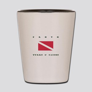 Provo Turks and Caicos Dive Shot Glass