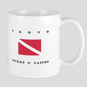 Provo Turks and Caicos Dive Mugs