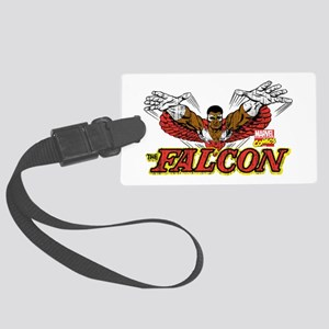 Vintage Falcon Large Luggage Tag