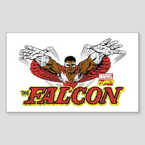 Vintage Falcon Sticker (Rectangle)