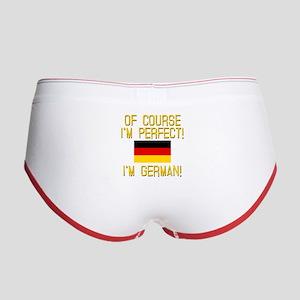 I'm Perfect I'm German Women's Boy Brief
