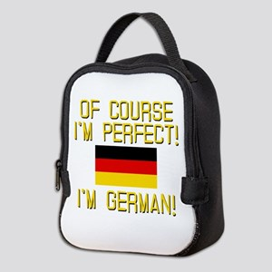 I'm Perfect I'm German Neoprene Lunch Bag